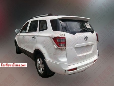 Spy Shots: Beijing Auto SC20 seven-seat variant seen testing in China