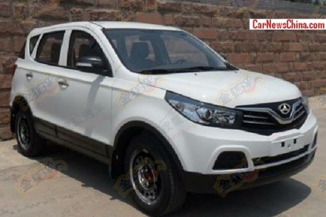Spy Shots: Beijing Auto SC20 with BAW-badges in China