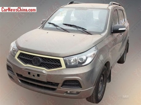 Spy Shots: Beijing Auto SC20 SUV is almost Ready for the China car market
