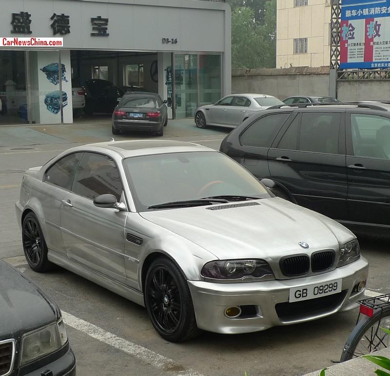 Spotted In China E46 Bmw M3 In Matte Chrome Carnewschina Com