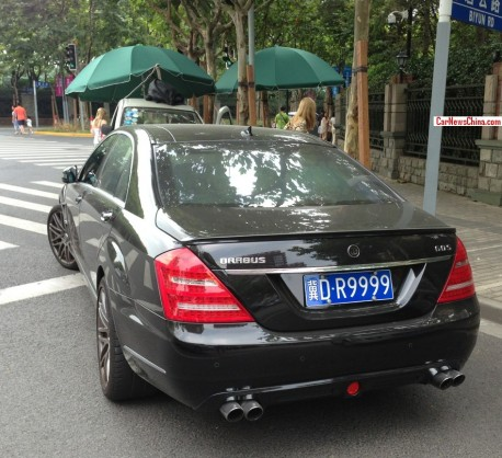 Spotted in China: Brabus 60S in Black with a License
