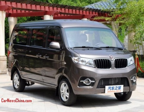 Brilliance Jinbei X30 minivan is out in China