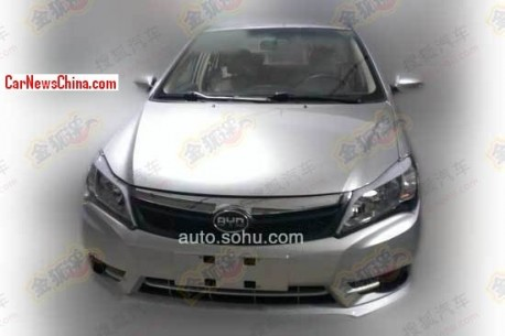 Spy Shots: facelift for the BYD F3 in China