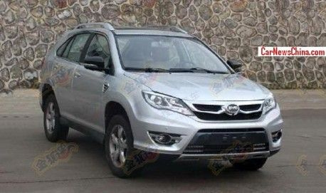 SpyShots: BYD S7 is Ready for the China car market