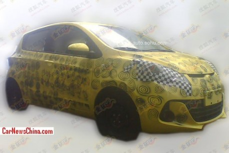 Spy Shots: new Chang'an BenBen Love testing in China