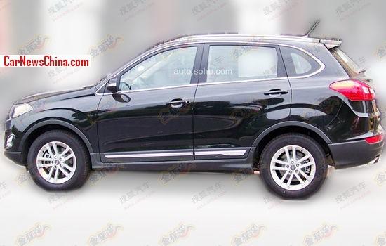 Spy Shots: the new Chery Tiggo 3X SUV for China
