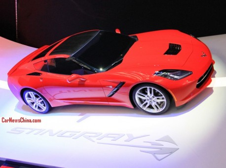 The new Chevrolet Corvette will come to China, for a shipload of Money