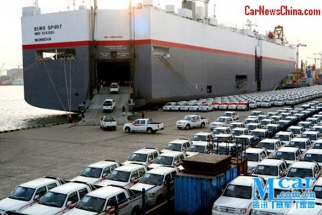 China vehicle export down 5.4% in July