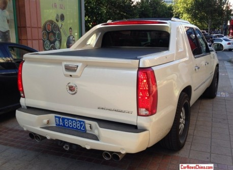 Spotted in China: Cadillac Escalade EXT