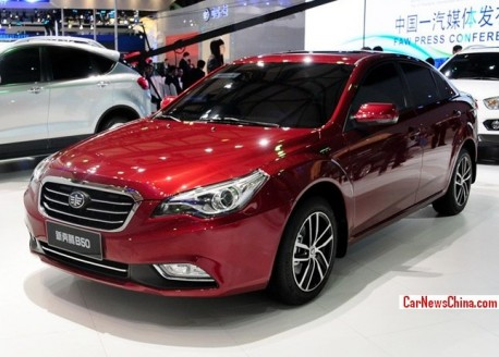 Facelifted FAW-Besturn B50 will hit the China car market in September
