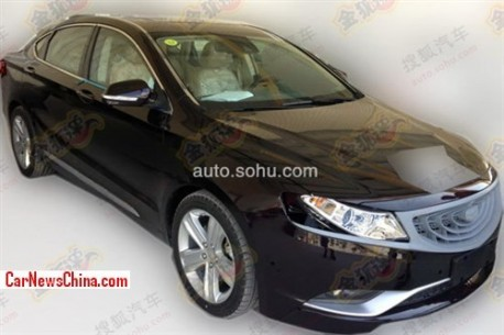 Spy Shots: Geely Emgrand EC9 testing in China