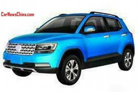 Patent Applied: Jiangsu Golden Lake Continental Automobile is going for the Volkswagen Taigun in China