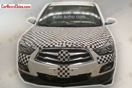 Spy Shots: Haima S5 seen testing in China