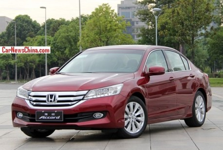 New China-made Honda Accord is Out
