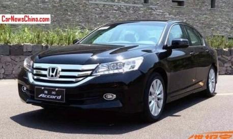 Spy Shots: new China-made Honda Accord is Ready for the Chinese car market