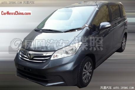 Spy Shots: Honda Freed mini-MPV testing in China