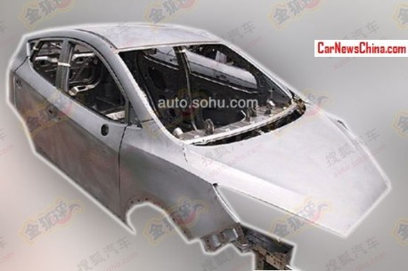 Spy Shots: JAC Heyue S30 seen in the Factory in China