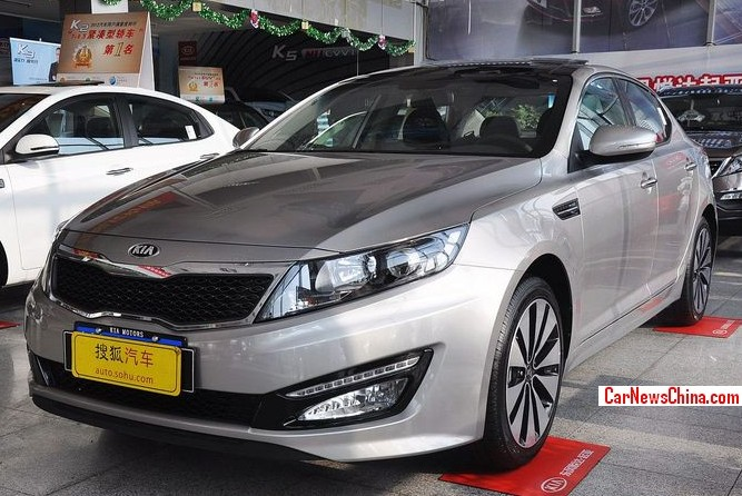 Kia K5 will get a 2.0 Turbo in China