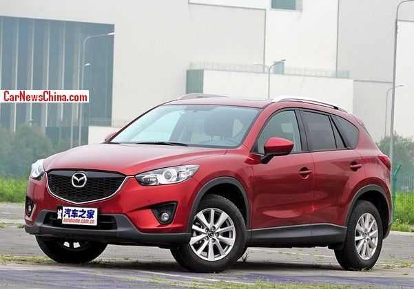 China Made Mazda CX 5 Hits The Chinese Car Market