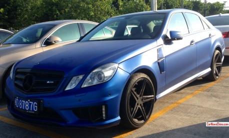 Blue Lightning; Carlsson Mercedes-Benz E-Class in China
