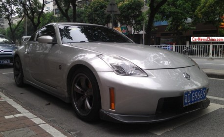 Spotted in China: Nismo Nissan 350Z