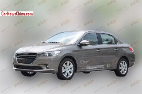 Spy Shots: Peugeot 301 is Ready for the China car market