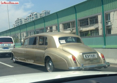 The mighty Soar Rolls-Royce Phantom spotted in Shanghai