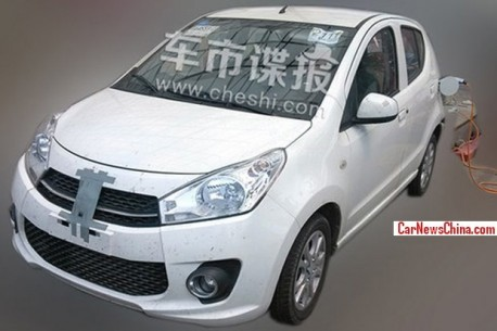 Spy Shots: Suzuki Alto EV testing in China