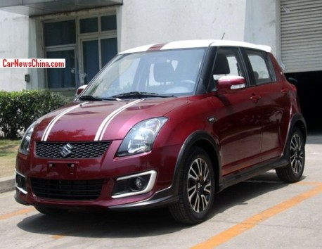 Official: Suzuki Swift 20th Anniversary Edition for the China car market