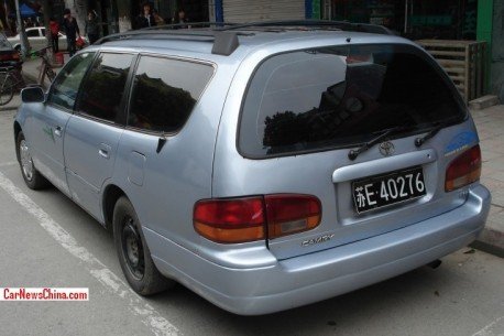Spotted in China: XV10 Toyota Camry LE wagon