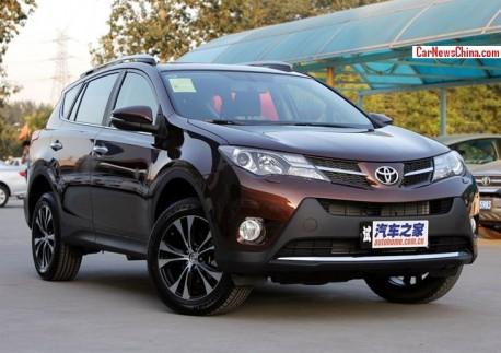 New Toyota RAV4 hits the China car market