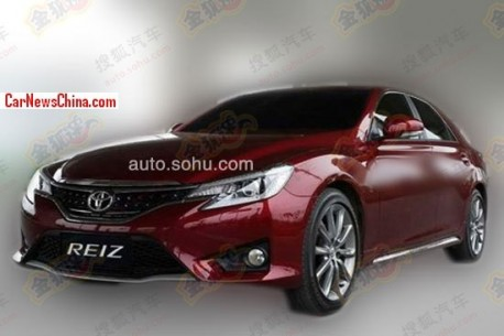 Spy Shots: facelifted Toyota Reiz is Naked in China