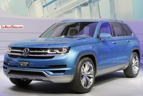 Volkswagen CrossBlue and CrossBlue Coupe will be made in China from 2015