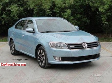 Spy Shots: Volkswagen Lavida Blue Motion for the China car market