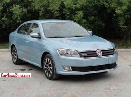 Spy Shots: Volkswagen Lavida Blue Motion for the China car market