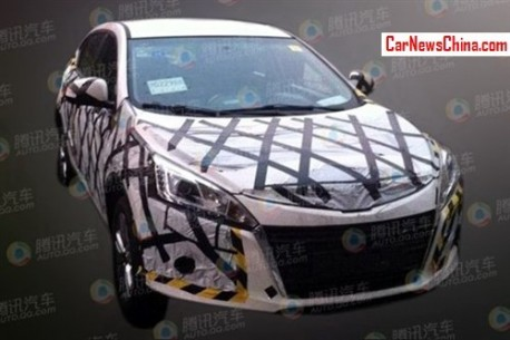 Spy Shots: Luxgen U5 SUV testing in China
