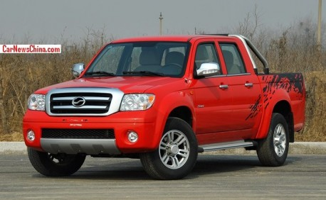 Zhongxing Grand Tiger TUV pickup truck hits the China car market