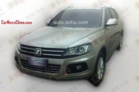 Spy Shots: Zotye T600 SUV is Ready for the China car market