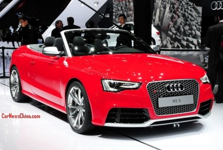 Audi RS5 Cabriolet launched on the China car market