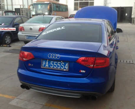 Audi S4 has a License in China
