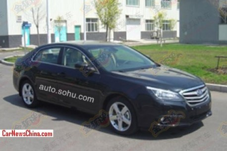 Spy Shots: facelifted Besturn B90 is Naked in China