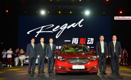 Facelifted Buick Regal launched on the China car market