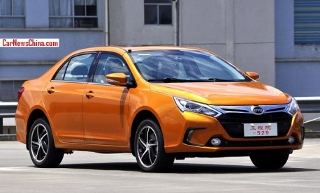 BYD Qin hybrid super sedan is Out in China