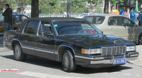 Spotted in China: sixth generation Cadillac Sedan de Ville