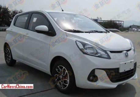 Spy Shots: Changan BenBen is completely Naked in China