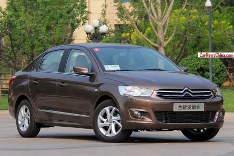 New Citroen C-Elysee will hit the China car market on September 26
