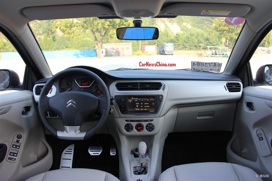2014 - [Citroën] C3-XR (Chine) - Page 4 Citroen-c-celysee-china-3