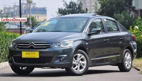 New Citroen C-Elysee hits the China car market