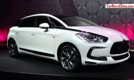 China-made Citroen DS5 hits the Chinese auto market