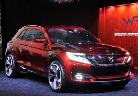 Citroen DS X7 SUV will hit the China car market in late 2014